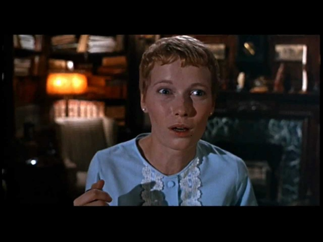 Rosemary's Baby - What have you done to it's eyes?