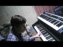 EP blues in Dm on Kurzweil MP10