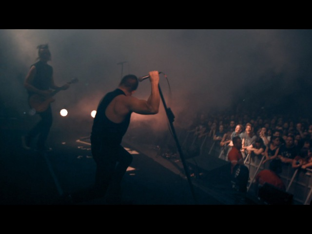 NIN March of the Pigs on stage in Melbourne 4K 3 14 2014