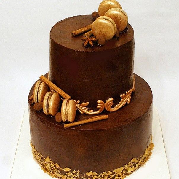 Золотые торты для мужчин