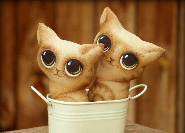 Удивительно, но эти милые котята сделаны c помощью... кофе. Это