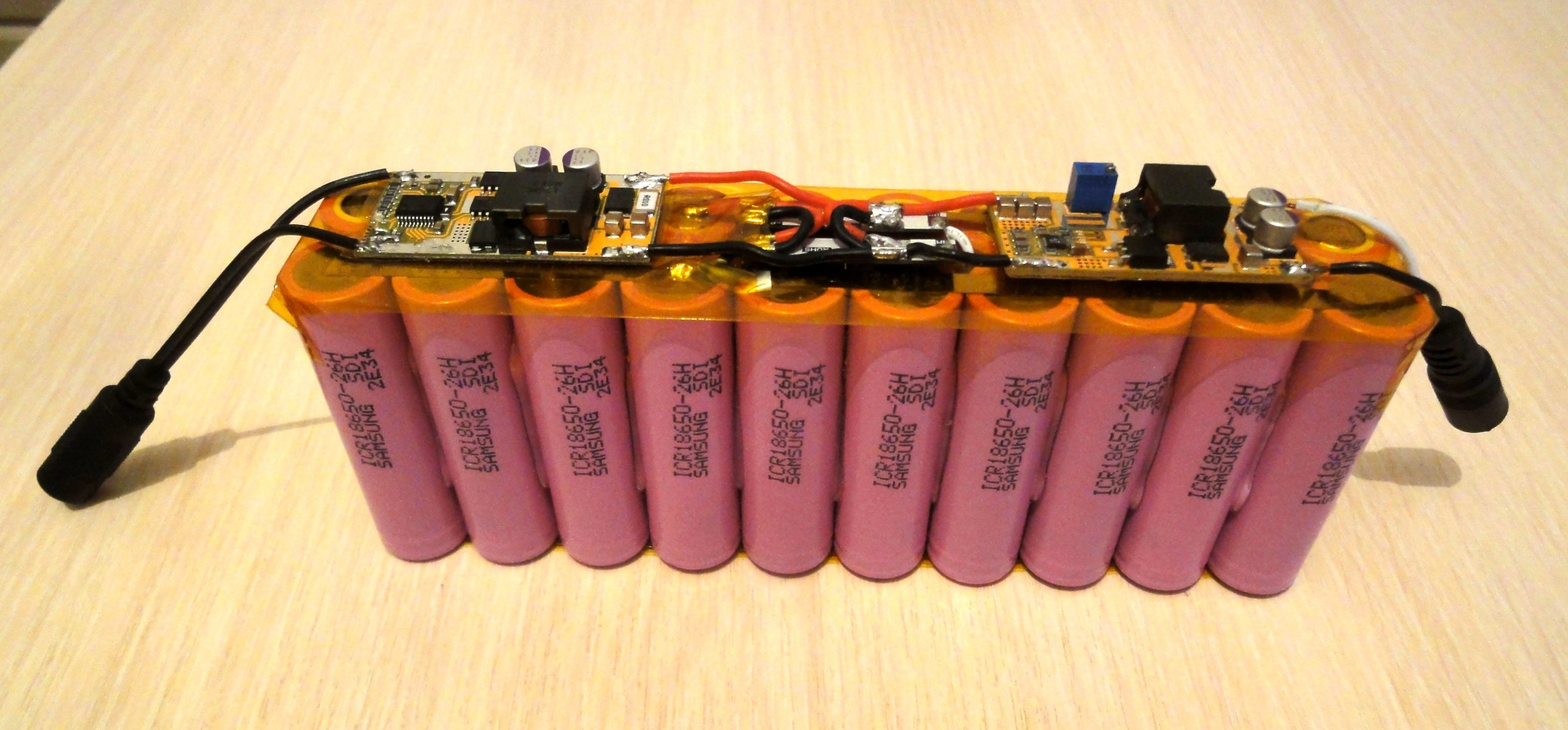 Power bank своими руками из аккумулятора 54