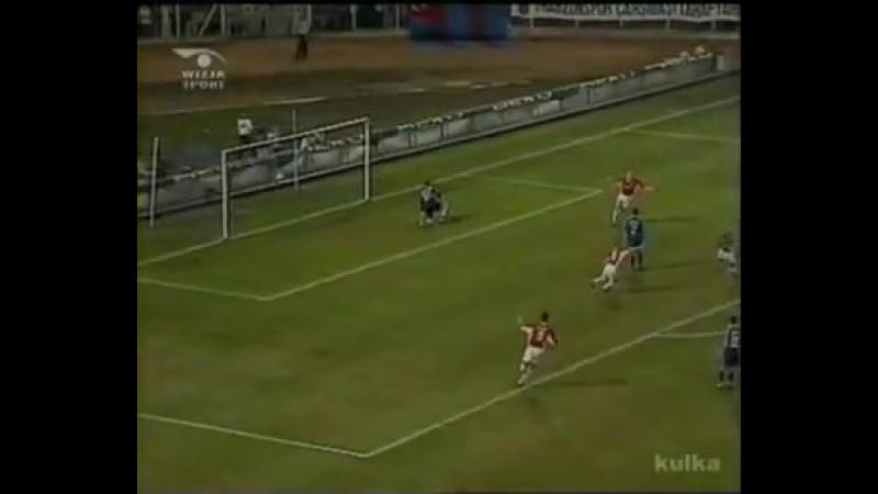 UEFA CUP 199899 Trabzonspor 0-2 Wisła Kraków (Goal Sunday)