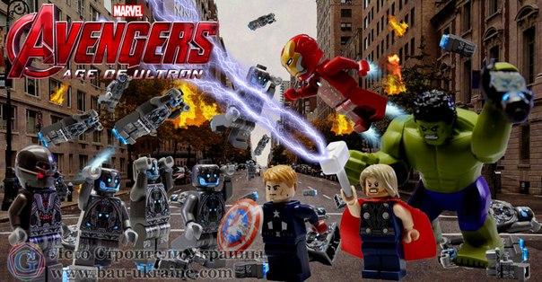 Lego marvel avengers прохождение на русском часть 1 эра альтрона.