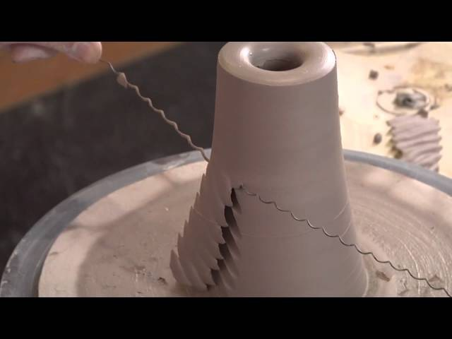Pottery Video A New Twist on a Faceted Bowl