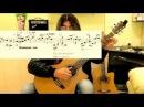 Как играть на гитаре песню про Антошку