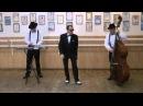 Разминка мастера степа (чечетки) Владимира Шпудейко в собственном танц-классе