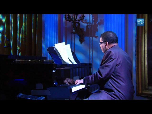 Herbie Hancock Corrine Bailey Rae perform Blackbird at the Gershwin Prize for Paul McCartney