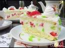 НЯМ-НЯМ:Воздушный торт Клубника
