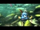Про любопытную голубую рыбку