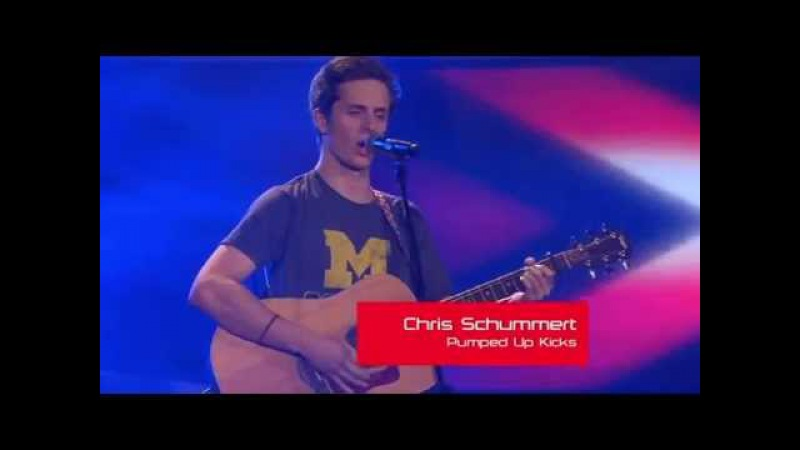 Chris Schummert - Pumped Up Kicks / The Voice of Germany 2013