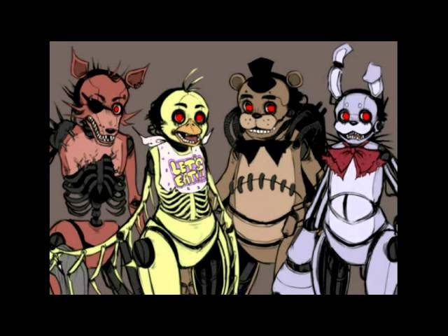 Fnaf Drawkill Animatronics and Springtrap Montage