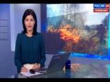 В селах Хакасии горят целые улицы частных жилых домов
