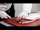 Как быстро разделать лосося и правильно засолить филе Мастер класс и рецепт Уриэля Штерна