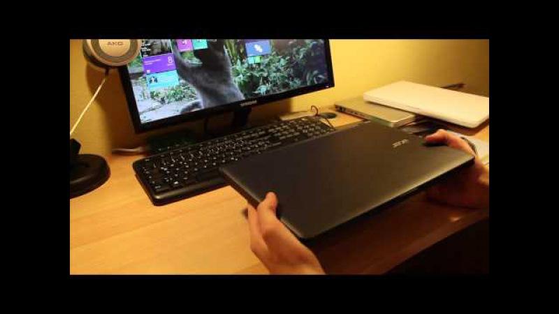 Ноутбук acer aspire es1 512 c9ne видео обзор