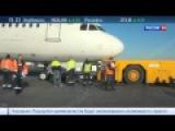 Авария в Пулкове: пассажиров эвакуировали из самолета Когалымавиа