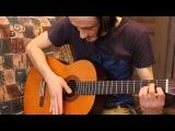 Уроки гитары популярный бой четверка на примере песни группы Кино Звезда по имени Солнце