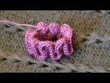 Урок вязания крючком - Рюши