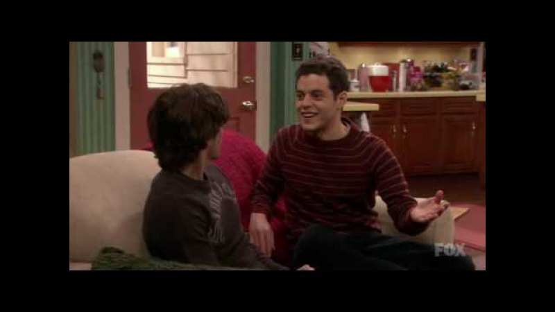 Jackson Rathbone and Rami Malek in The war at home: cutest scene EVER