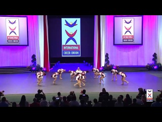 USA National Team [Team Cheer Freestyle Pom]  - 2015 ICU World Cheerleading Championships