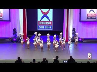 Team Finland [Team Cheer Freestyle Pom] - 2015 ICU World Cheerleading Championships