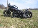 Harley bobber evo softail open bdl belt jockey shift foot clutch Fußkupplung
