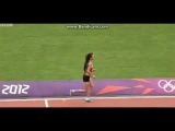 Merve Aydin limping to an applauded 800m finish