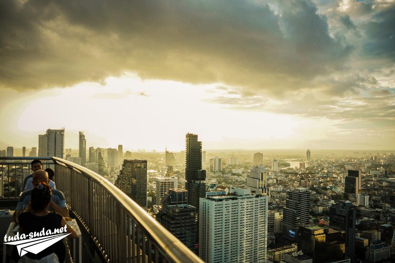 Рестораны на крышах в Бангкоке