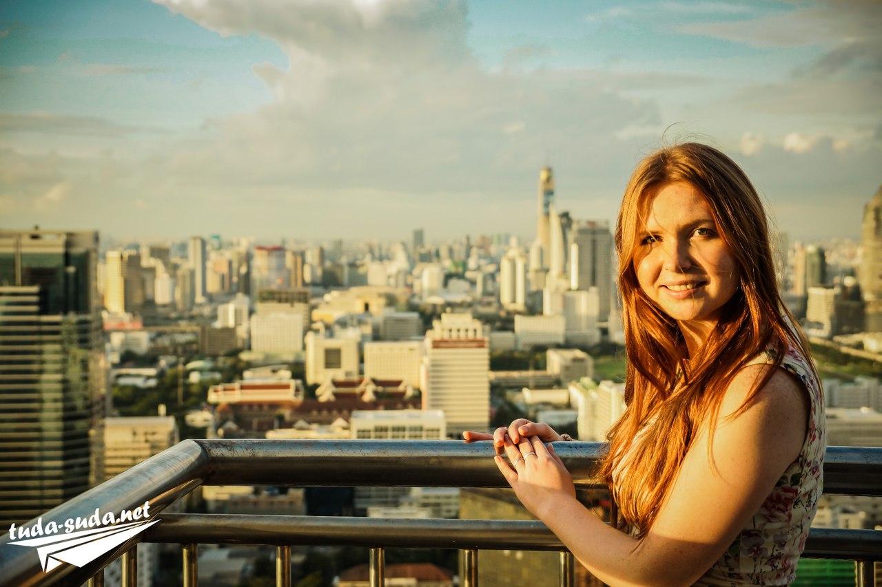 Крыши в Бангкоке