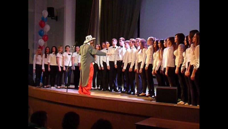 Гимн студентов, в исполнении первокурсников 2015