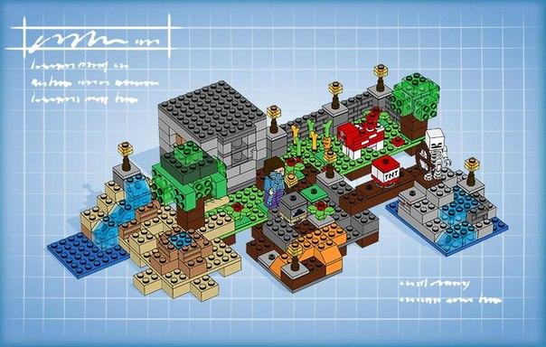 инструкция к лего майнкрафт - фото 11