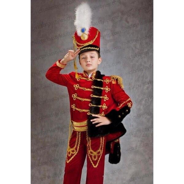 Гусарский костюм для мальчика своими руками