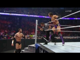 (WWEWM) Король Ринга 2015 - Невилл против Бэд Ньюз Барретта (Финал турнира