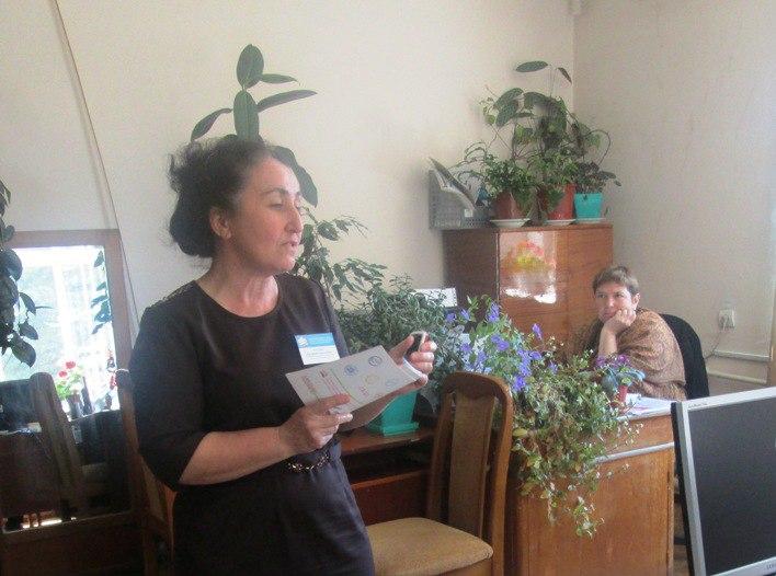 Специалисты Зеленчукского Управления ПФР посетили Зеленчукское общество инвалидов