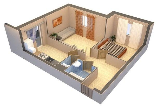 Поэтому владельцы квартиры или