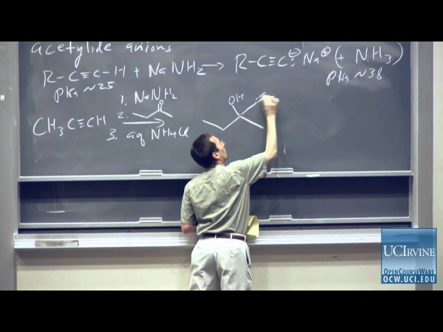Organic Chemistry 51C. Lecture 03. Reactions of Organometallic Reagents.