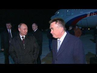 Президент России прибыл во Владивосток из Пекина - Первый канал