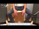 Videocorso di Cajon, Lezione 12: Buleria (estratto)