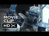 Chappie Movie CLIP - Real Gangster (2015) - Hugh Jackman, Dev Patel Robot Movie HD
