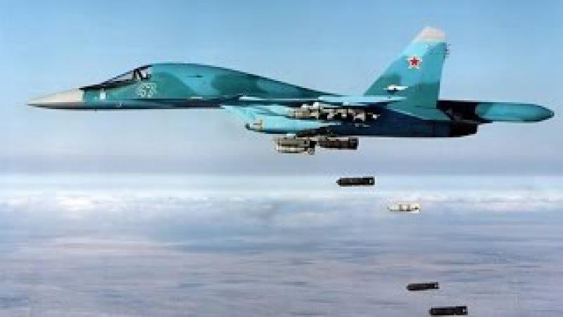 Истребитель - бомбардировщик Су-34