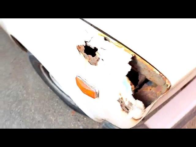 Ремонт авто №1 от дядей с YouTube. Рихтовка. Подготовка. Покраска.