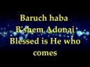 Paul Wilbur Baruch Haba B'shem Adonai Lyrics