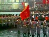 Военный парад на Красной пл. Москва, 1981 год, кинохроника СССР