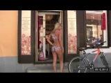 bodypainting. Alexa - painted bikini. Part3.2