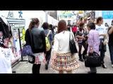 Модный квартал в Токио - Харадзюку, улица Такесита.