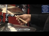 Uptempo Jazz Ride Cymbal Technique Lesson Drummer Ralph Peterson Playing Fast Swing Fast Tempo