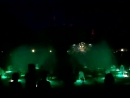 Поющий фонтан ночером
