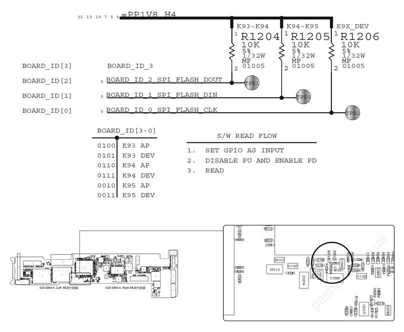 Схема ipad mini 2 a1455