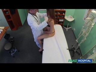 FakeHospital.com: Samantha - Beautiful Brunettes Wet Pussy Gets Doctors Cock On The Examining Table (2015) HD