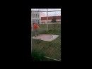 Стас Савченко. Юный спортсмен, выпендрежник D Тренировка. Метание диска.